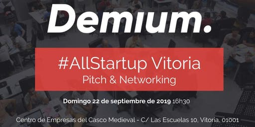 Pitch & Network #AllStartup Vitoria