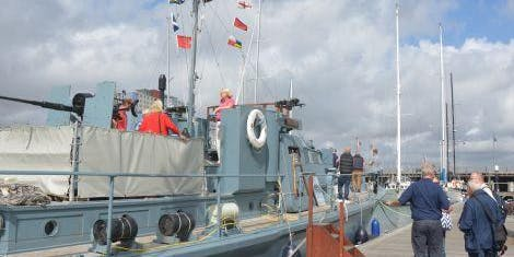 No9. Onboard HDML Medusa (13 Sept - 11:00)
