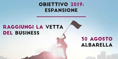 EVENTO Obiettivo 2019: Espansione (Albarella)
