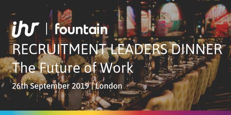 Recruitment Leaders Dinner: The Future of Work tickets