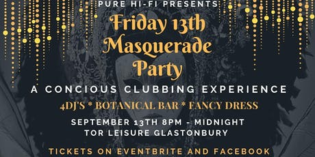 Friday the 13th Masquerade Party tickets