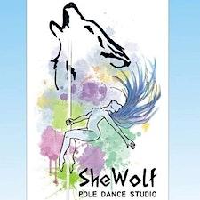 S.S.D She Wolf Pole Dance Studio logo