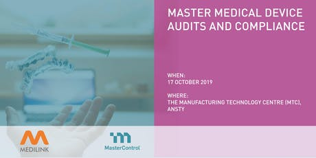 Master Medical Device Audits and Compliance Workshop tickets