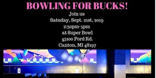 Bowling For Bucks!!