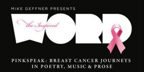 PinkSpeak: Breast Cancer Journeys in Poetry, Music & Prose - NYC Fundraiser tickets