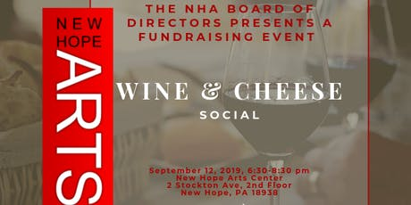 NHA Wine and Cheese Social tickets