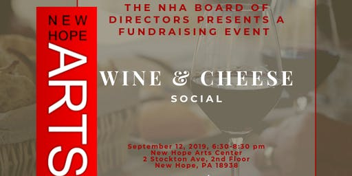 NHA Wine and Cheese Social