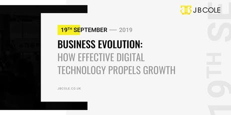 Business Evolution | How Effective Digital Technology Propels Growth tickets