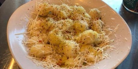Potato Gnocchi with Asiago and Roasted Pepper Sauce tickets