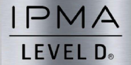 IPMA – D 3 Days Virtual Live Training in London Ontario tickets