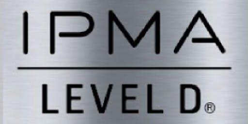 IPMA – D 3 Days Virtual Live Training in Waterloo