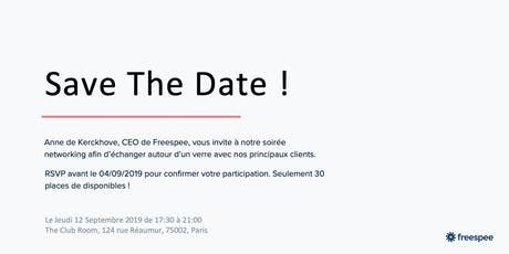 Save The Date ! billets
