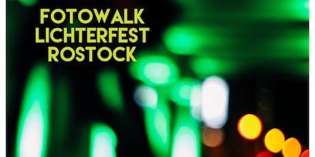 Fotowalk Lichterfest Rostock - Das Lichtermeer in Bildern festhalten. Tickets