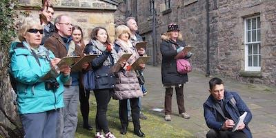 Edinburgh Sketcher in Cockenzie: sketching tour of Historic Cockenzie