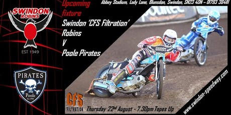 Swindon Robins V Poole Pirates tickets