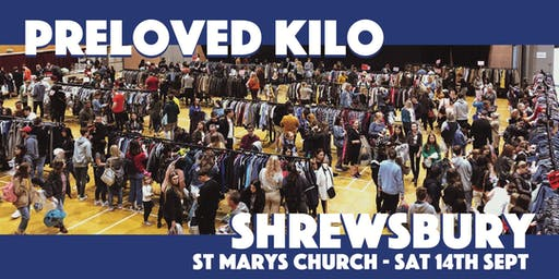 Shrewsbury Preloved Vintage Kilo