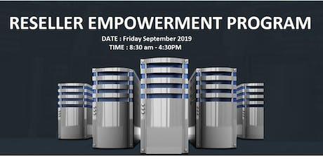 Re-seller Empowerment Program tickets