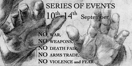 Music and Live reading: Orfeas String Quartet & Robert Fisk | Part of No War, No Weapons, No Death Fair, No Arms Trade, No Violence and Fear  tickets