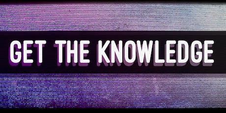GET THE KNOWLEDGE - GLASGOW tickets