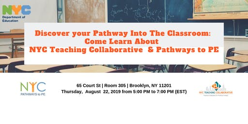 Discover your Pathway Into The Classroom with NYC DOE