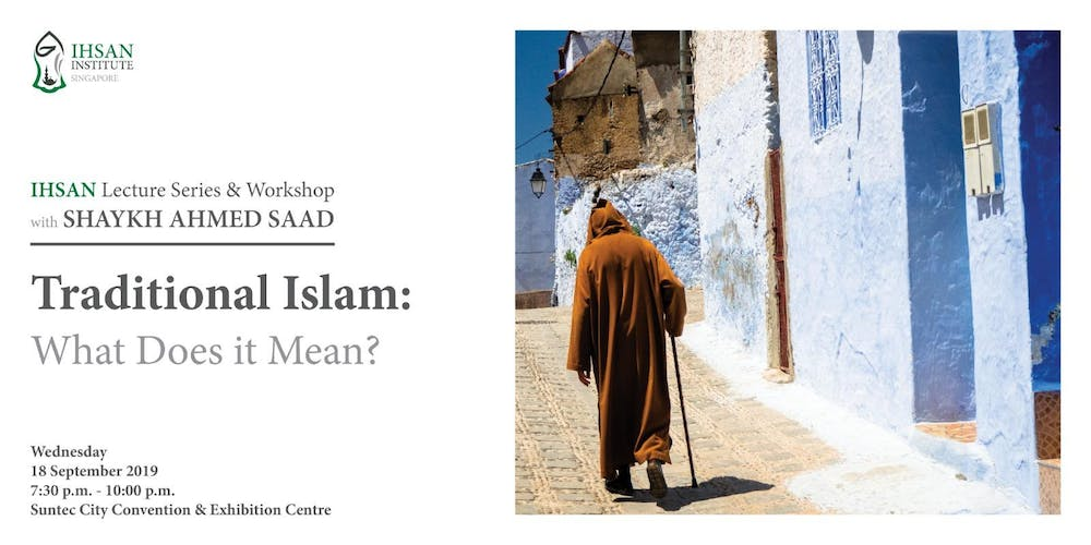 Traditional Islam: What Does it Mean? Tickets, Wed 18 Sep