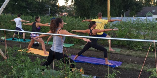 Yoga on the Farm