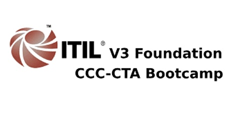 ITIL V3 Foundation + CCC-CTA 4 Days Virtual Live Bootcamp in Perth tickets
