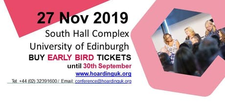 National Hoarding Conference Road Show, Edinburgh tickets
