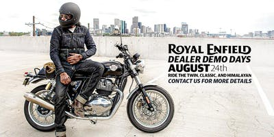 Royal Enfield Dealer Demo Day