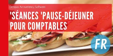 Rixensart: Séance 'Pause - Déjeuner' pour comptables billets