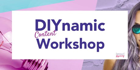 DIYnamic Content Workshop tickets