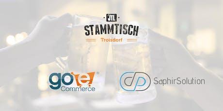 JTL-Stammtisch Troisdorf | go-eCommerce & SaphirSolution Tickets