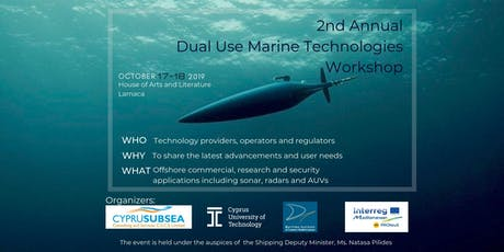 2nd Annual Dual Use Marine Technologies Workshop tickets