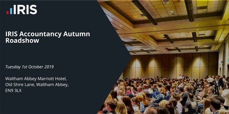 IRIS Autumn Roadshow - Waltham Abbey tickets