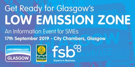 Get Ready for Glasgow's Low Emission Zone - An Information Event for SMEs tickets