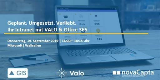 Digital Workplace Tour mit Valo und Office 365