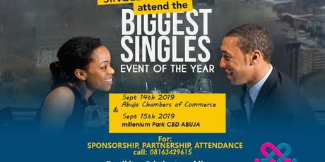 THE BIGGEST SINGLES EVENT IN ABUJA tickets