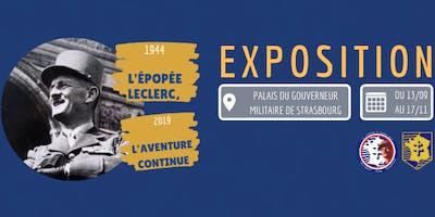 """Exposition """"L'épopée Leclerc, l'aventure continue"""""""