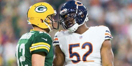 Bears Versus Packers - Pot Luck tickets