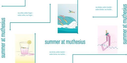 Summer at Muthesius - Die September Academy an der Muthesius Kunsthochschule