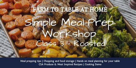 August CSA Meal Prep Workshop tickets