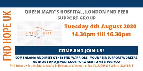 QMH London FND Peer Support Group tickets