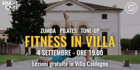 Fitness in Villa Caldogno biglietti