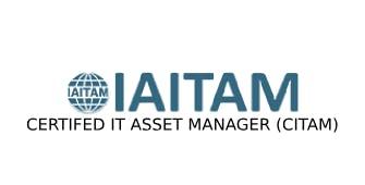 ITAITAM Certified IT Asset Manager (CITAM) 4 Days Training in Adelaide
