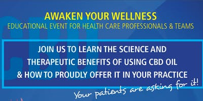 CBD/CBG OIL EDUCATIONAL EVENT FOR HEALTHCARE PROFESSIONALS & TEAMS