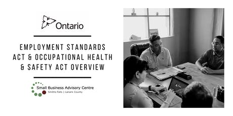 Employment Standards Act & Occupational Health & Safety Act Seminar tickets