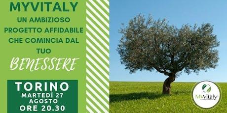 MYVITALY - MEETING TORINO biglietti