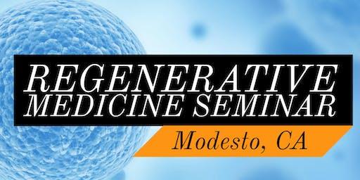 FREE Regenerative Medicine & Stem Cell For Pain Seminar - Modesto, CA