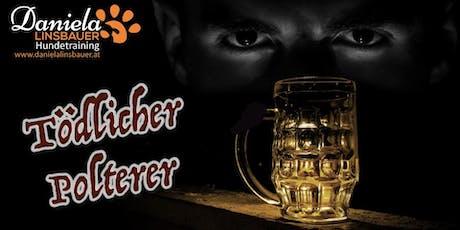 """Schnüffel-Kriminalfall """"Tödlicher Polterer"""" am 22.09.2019 Tickets"""