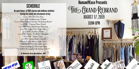 Human@Ease Grand Re-Brand Free Classes All Day! tickets